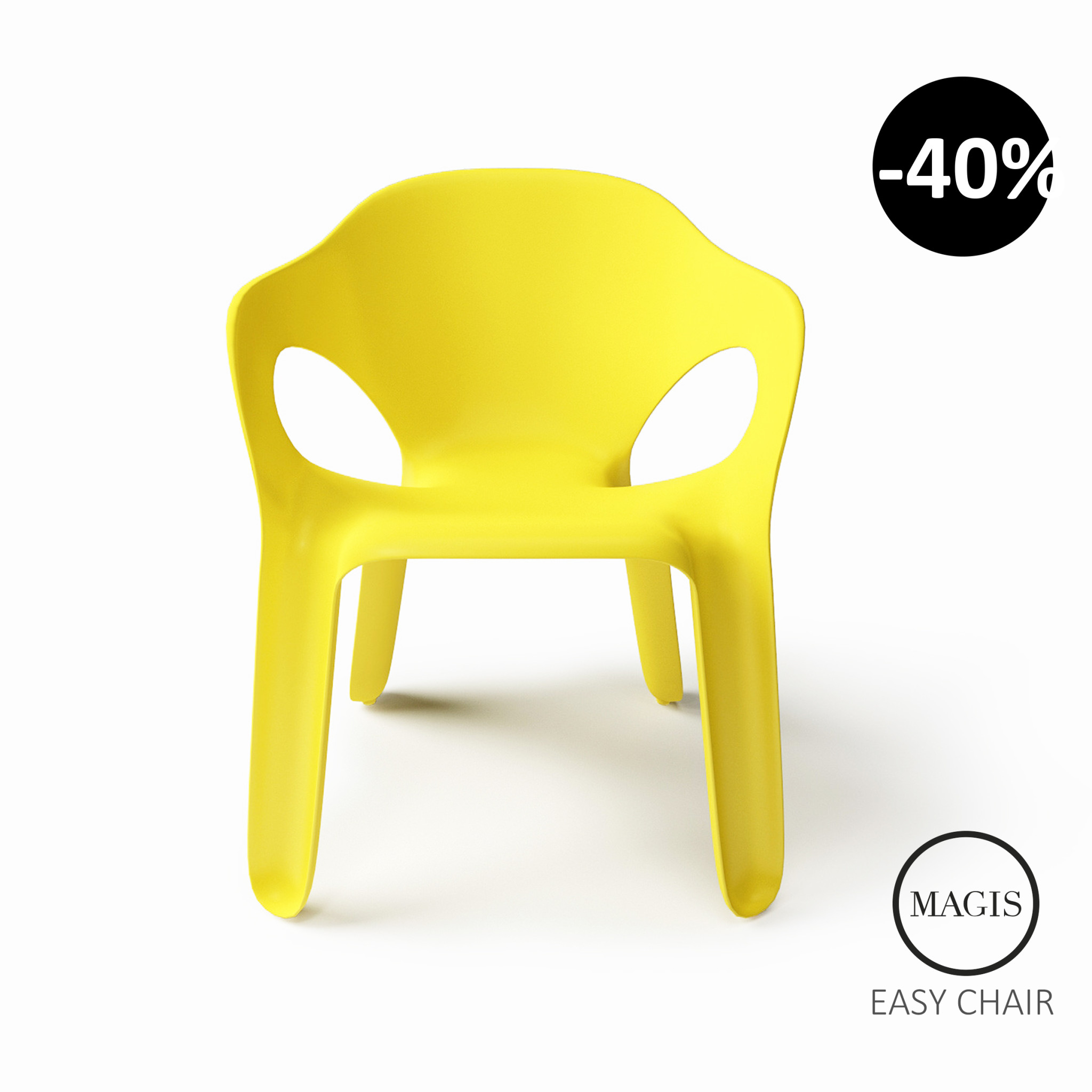 Magis Easy Chair-Recovered