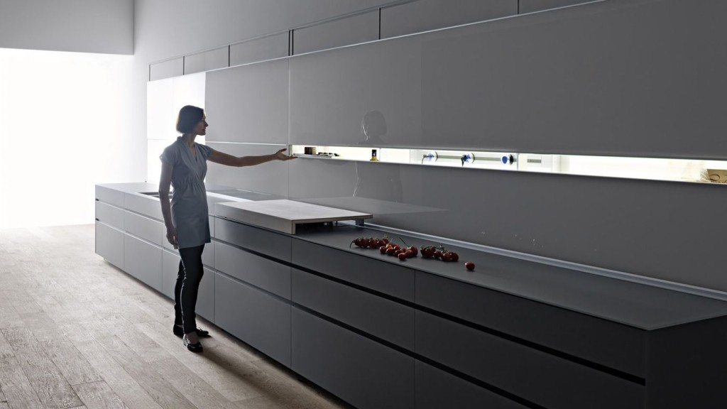 disporre cucina lineare