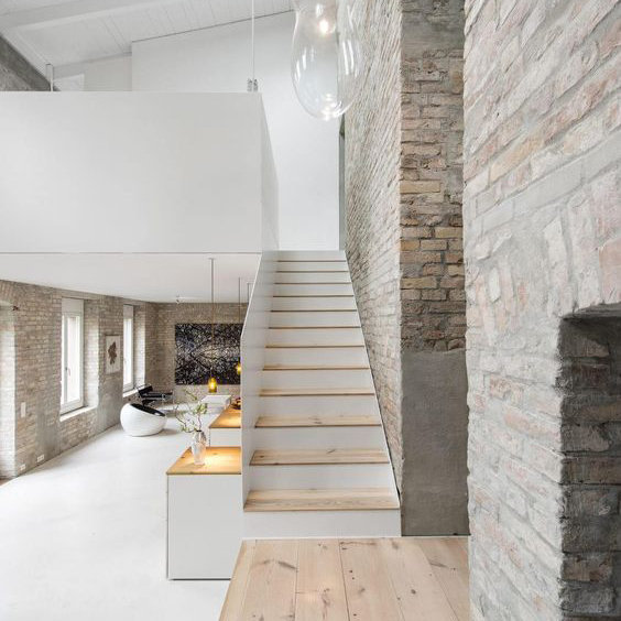 Interni moderna with interni moderna casa di montagna for Interni di casa moderni