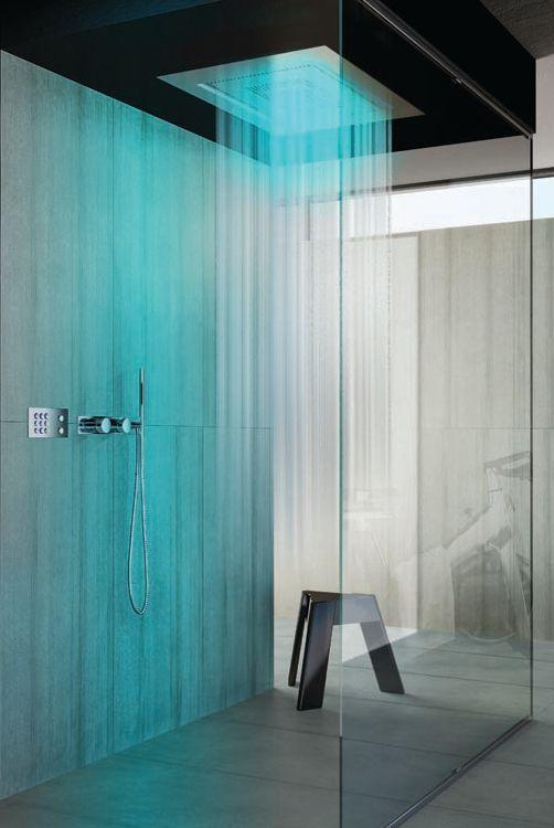 Come arredare un bagno moderno le nuove tendenze artheco - Rubinetteria bagno nera ...
