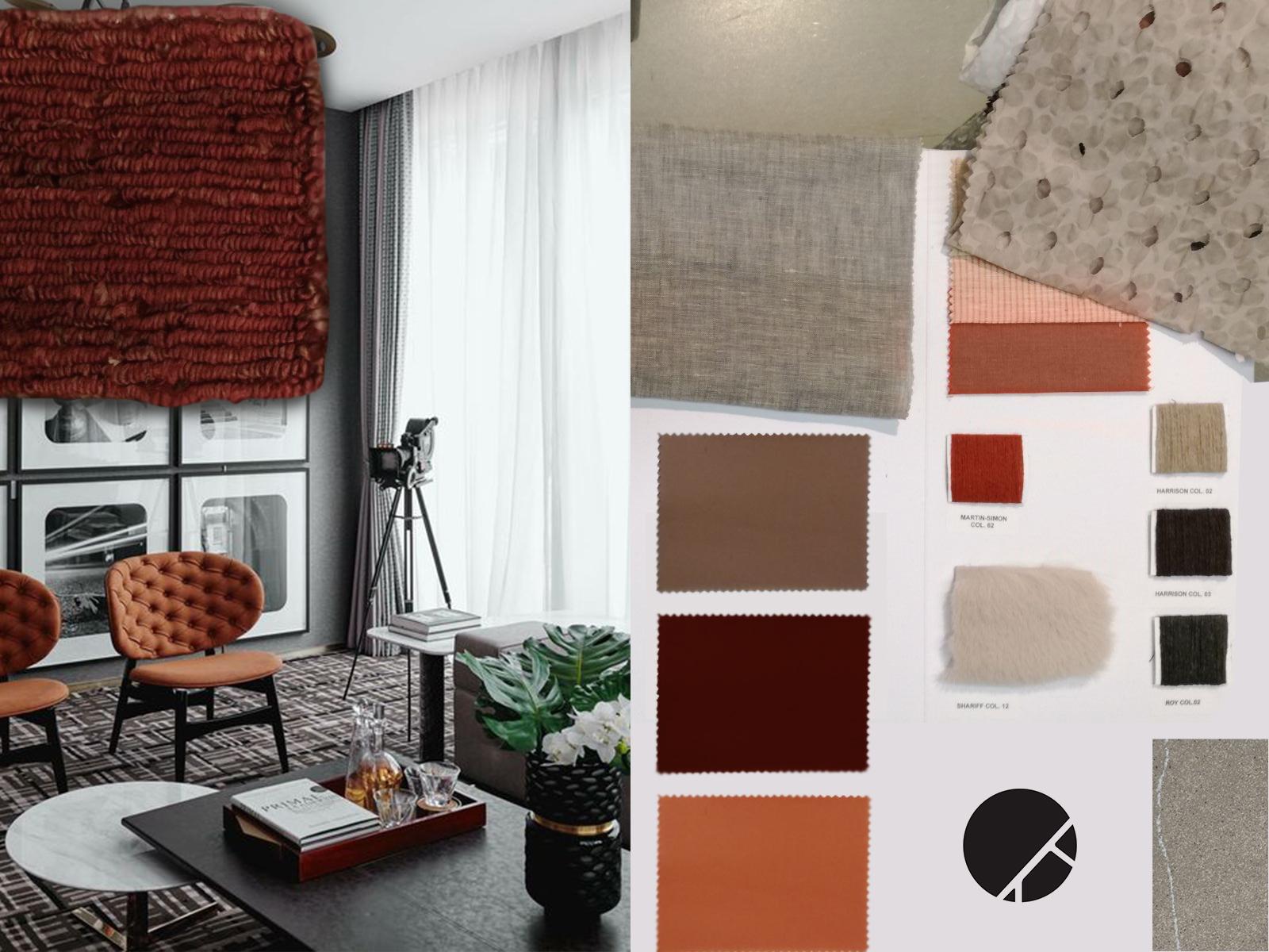 Come arredare la tua casa con i tessuti artheco for Divano rosso abbinamenti