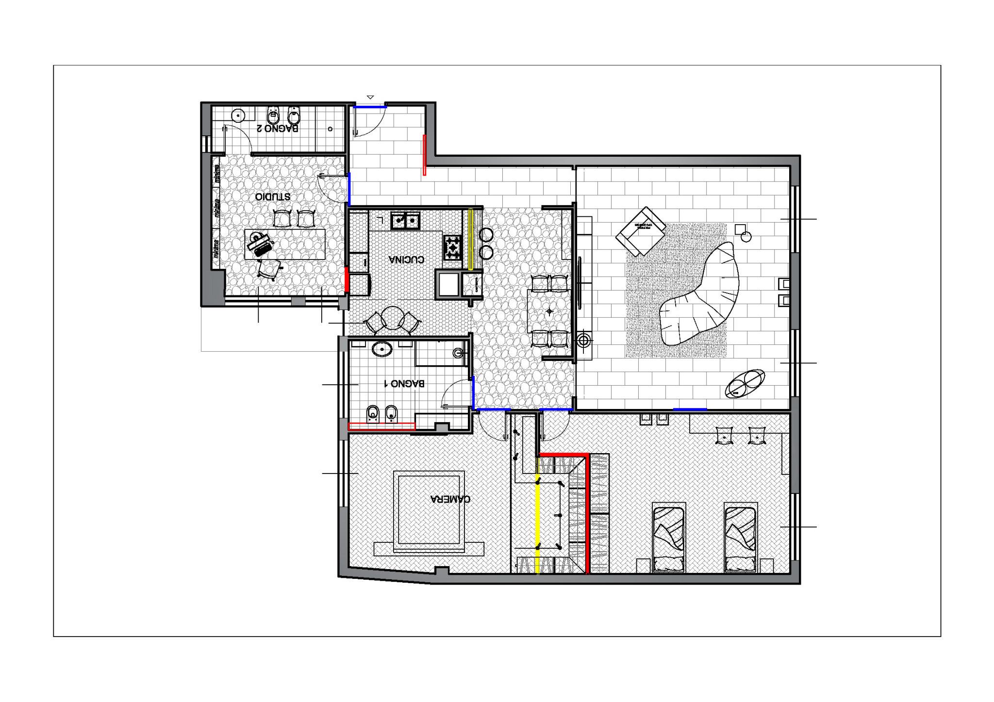 Come ristrutturare casa 2 progetti da copiare artheco for Ristrutturazione casa anni 70