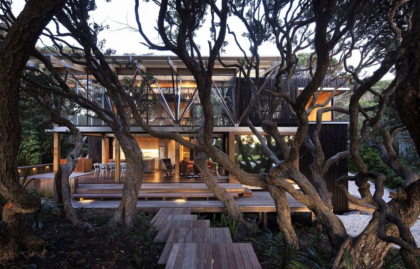 Case da sogno 3 case bellissime da copiare artheco for Piani di casa sul lago per lotti ripidi