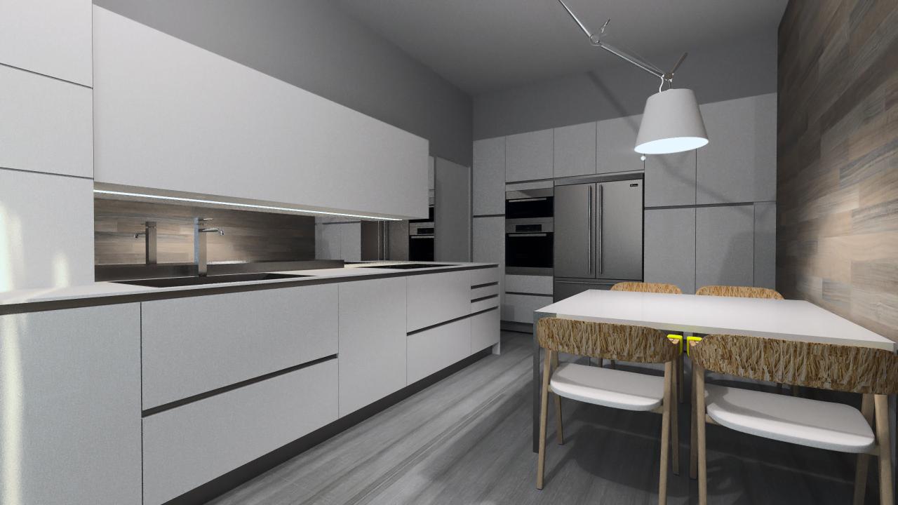 Come progettare una cucina su due lati artheco - Come progettare la cucina ...