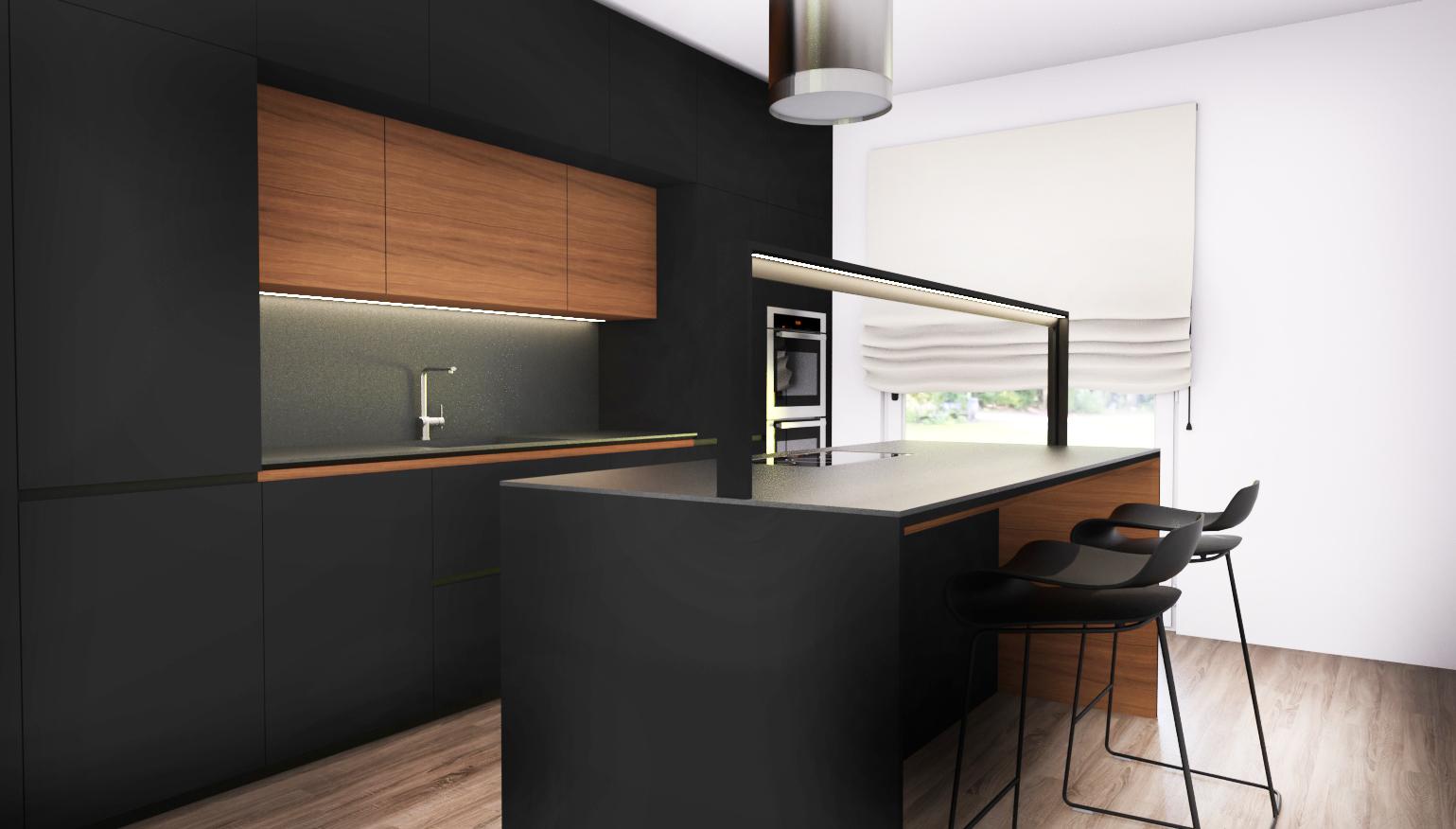 Come progettare una cucina su due lati artheco for Progettare parete attrezzata