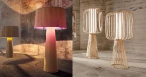 Lampade da terra in bamboo di LaSfera