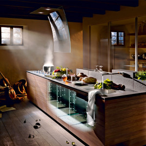 Cucina Invitrum di Valcucine