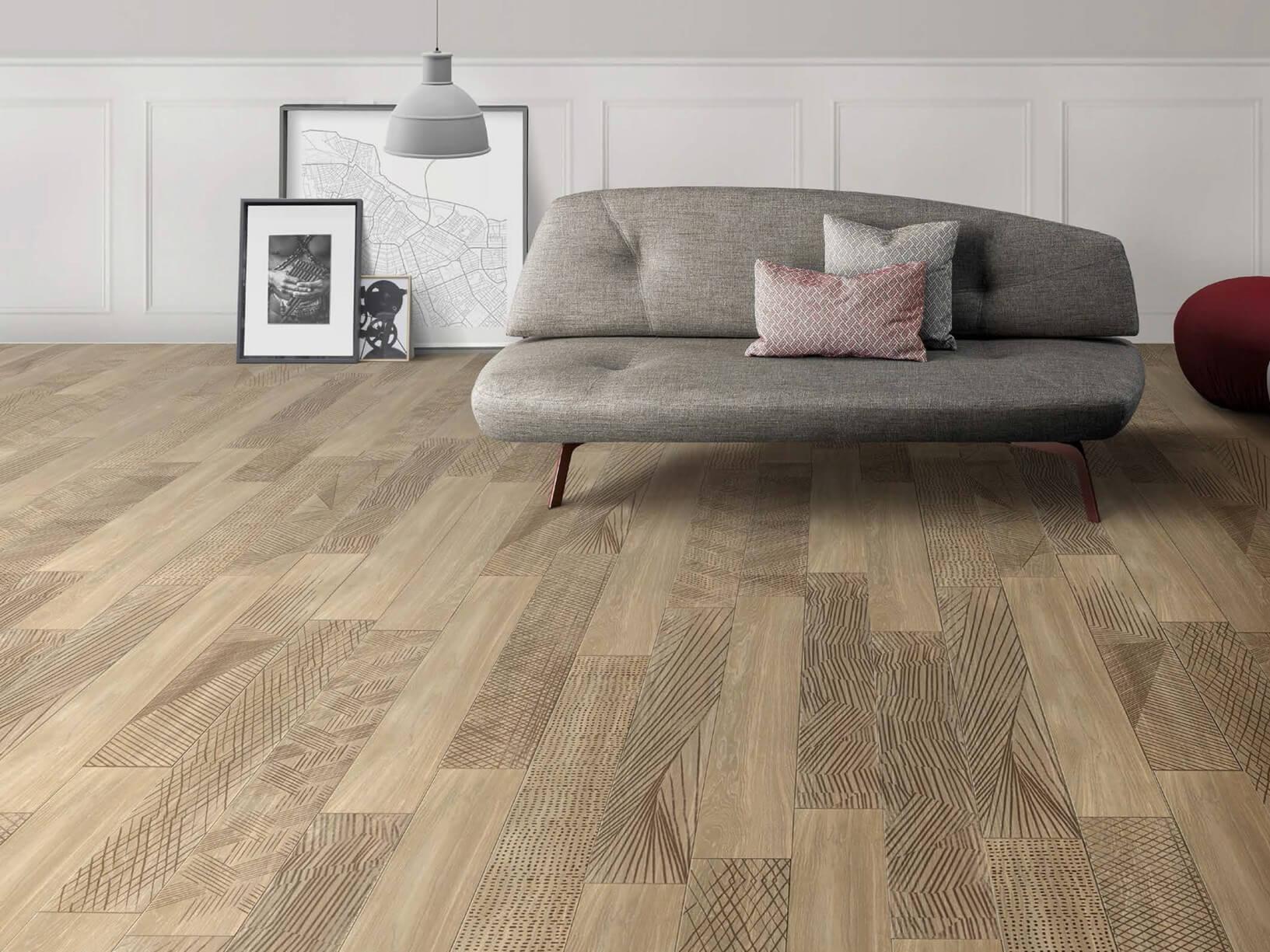 Tre tipologie di pavimenti moderni per la tua casa artheco for Casa moderna parquet