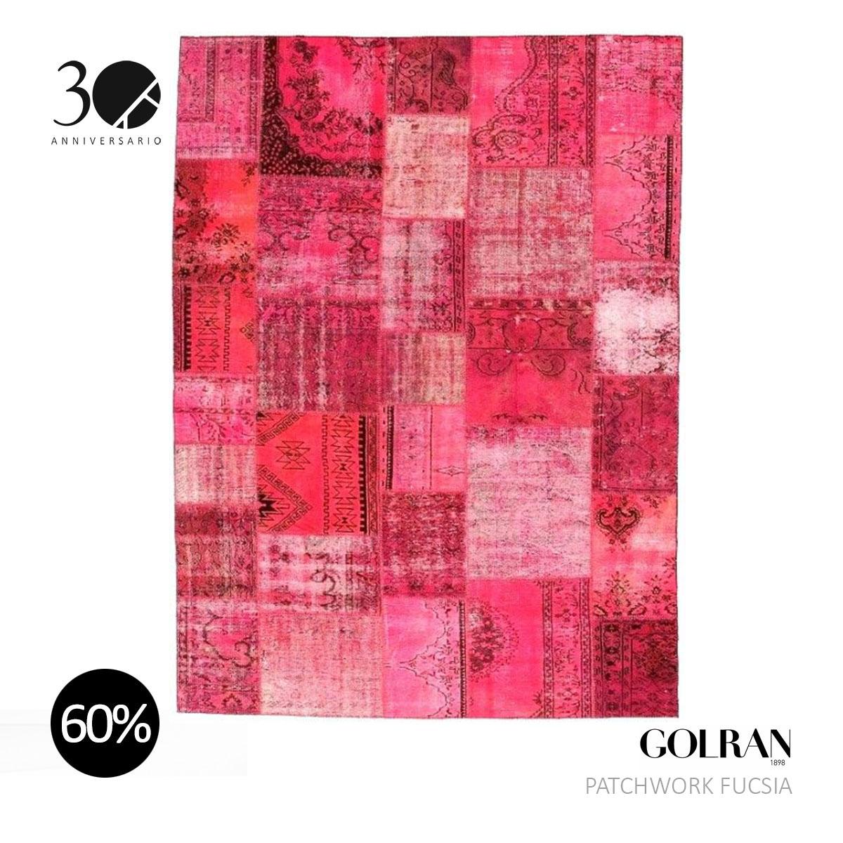 GOLRAN - PATCHWORK FUCSIA
