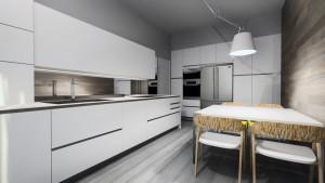 cucina artematica vitrum valcucine