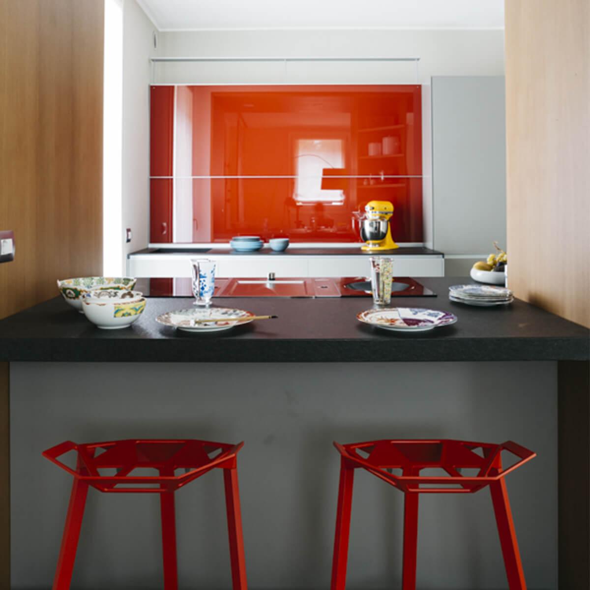 arredare cucina moderna e colorata