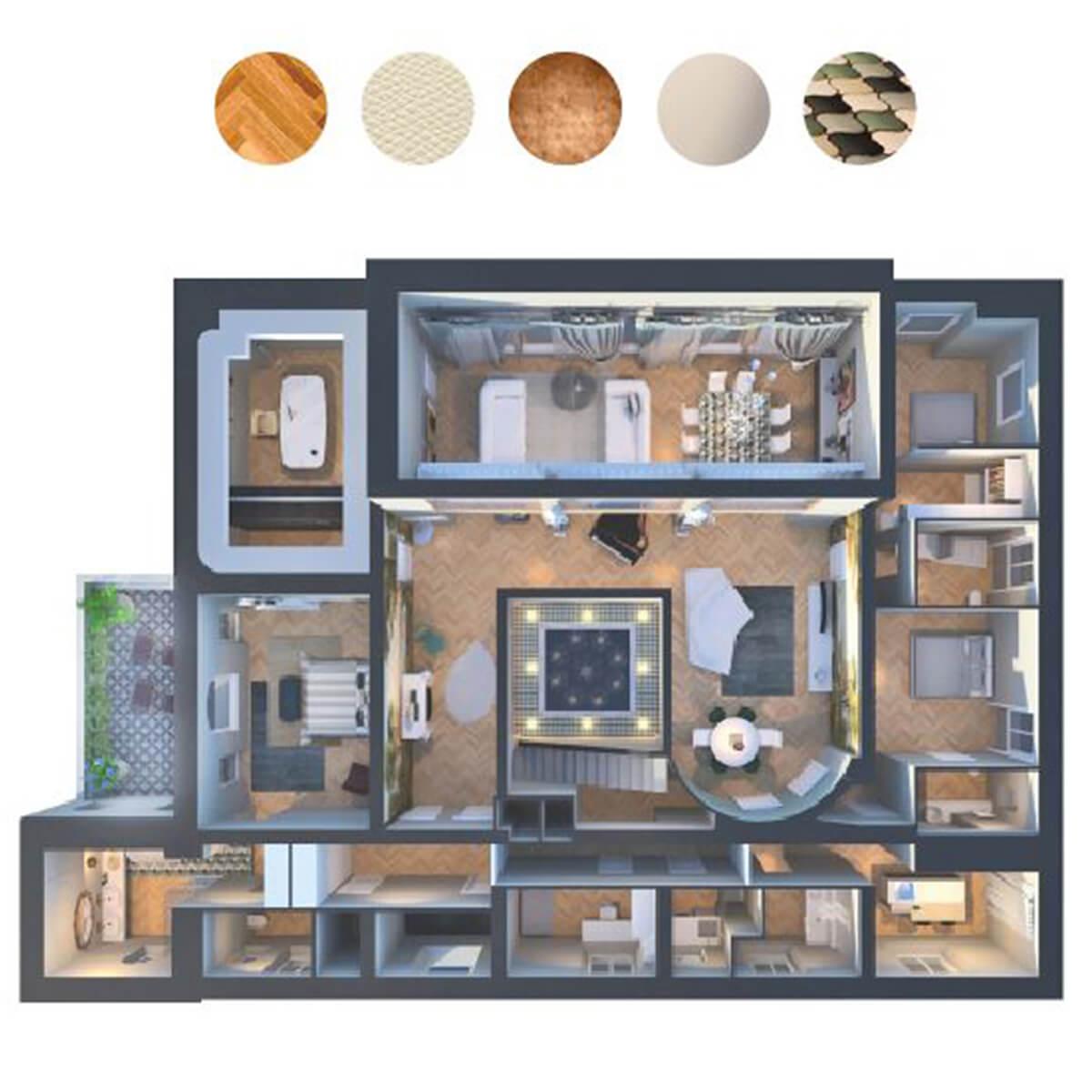 Progettazione interni Rapallo