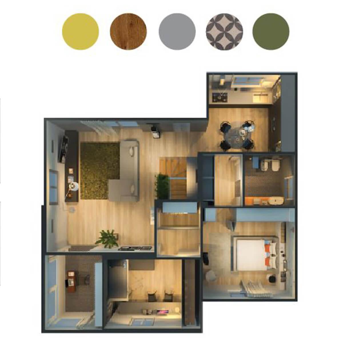 Progettazione interni design Varese