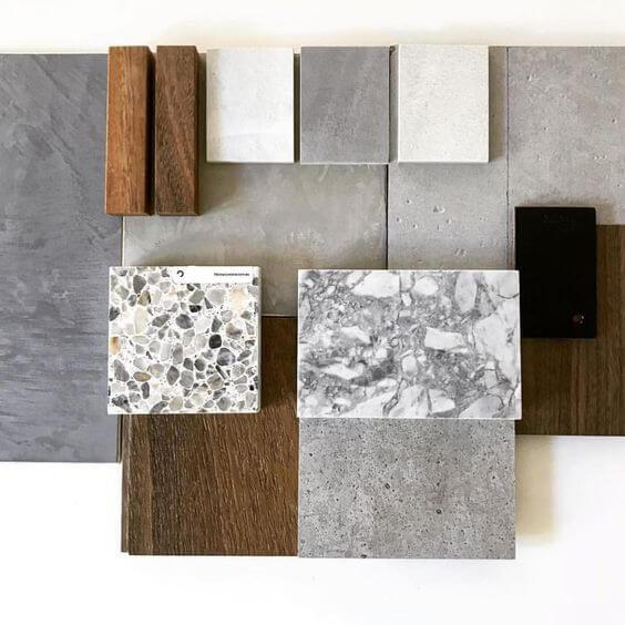 Progettazione interni legno e pietra