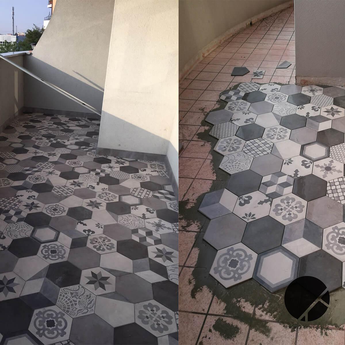 ristrutturazione terrazzo prima e dopo