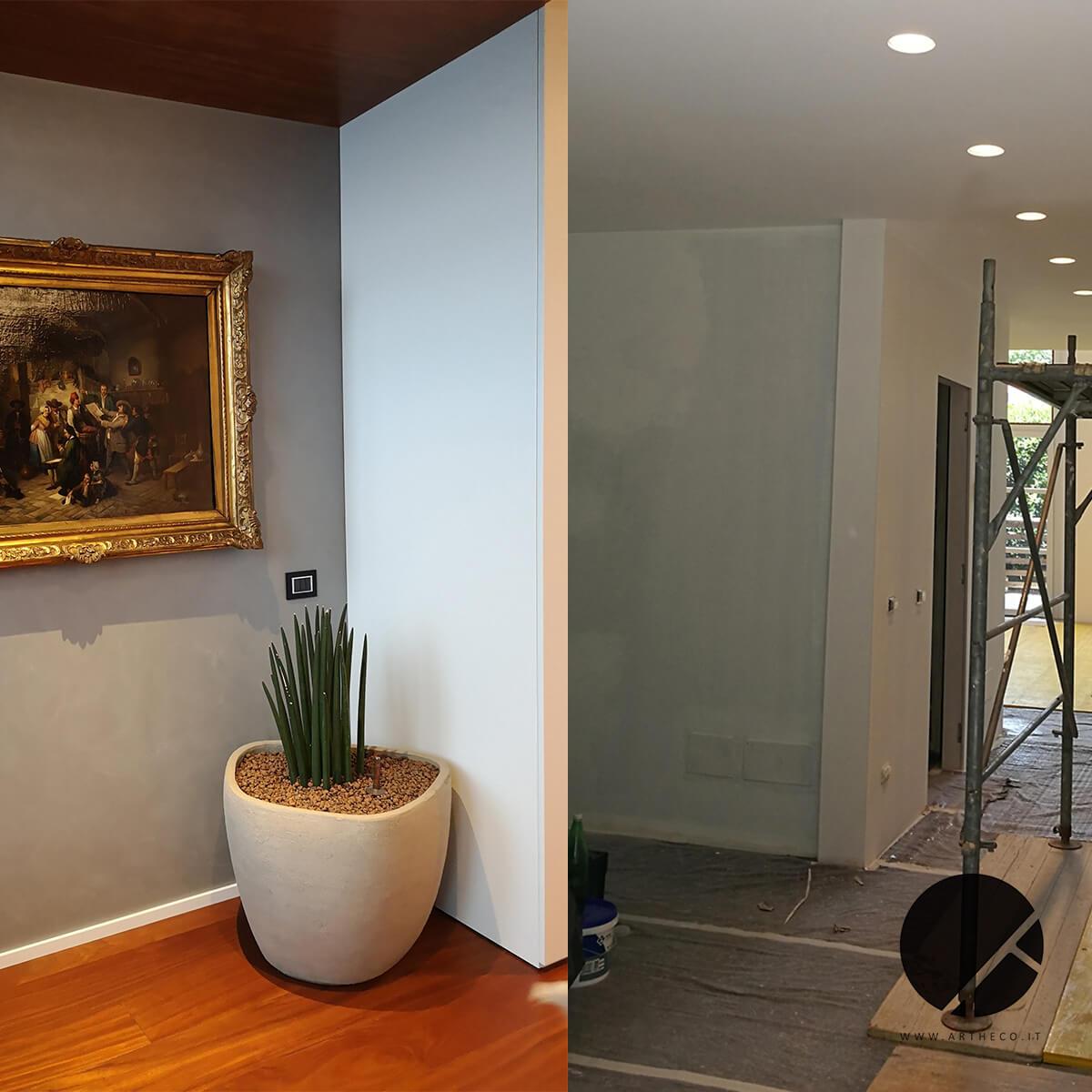 ristrutturazione design prima e dopo