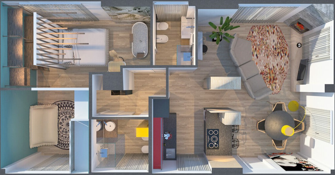 colori casa moderna