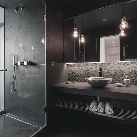 appartamento in centro con tocchi d'argento